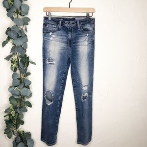 Ag | The Isabelle High Rise Straight Crop Size 27R